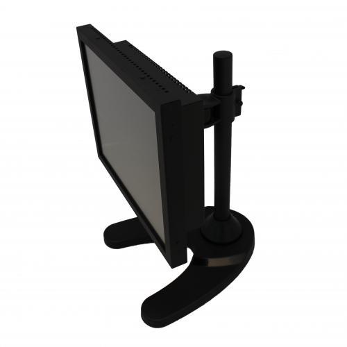 Desktop touchscreen computer