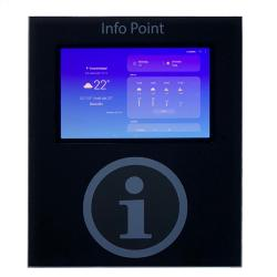 """Small hufter proof kiosk with 10.5"""" Android pc"""