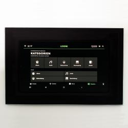10.5 inch pcap touchscreen system with camera front
